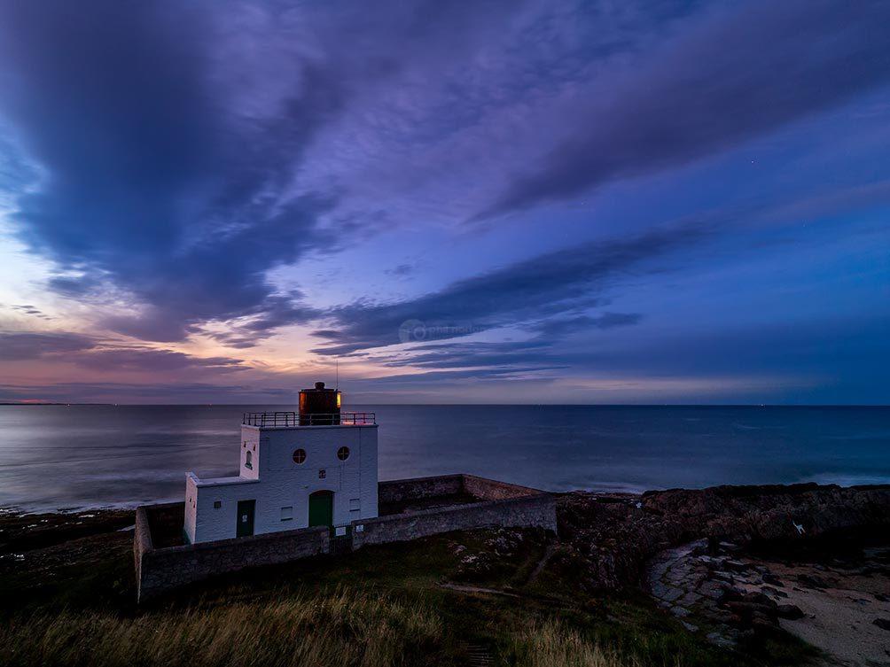 Bamburgh Lighthouse Night