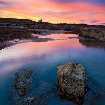 Bamburgh Lighthouse Rocks