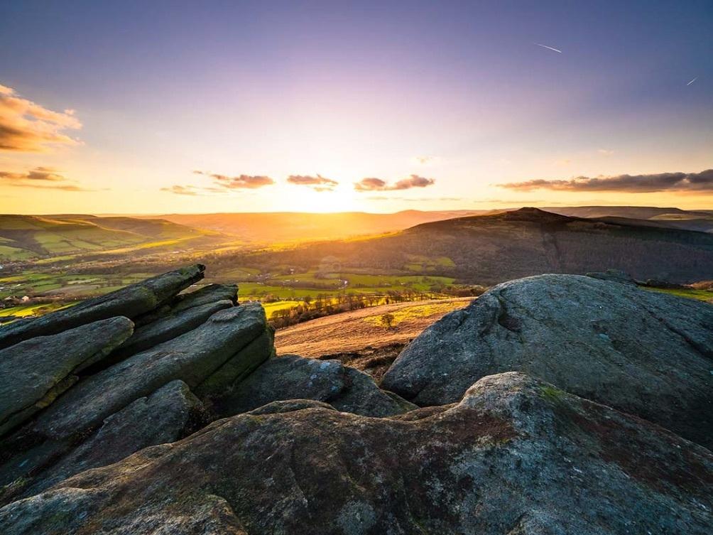 Bamford Edge Sunset