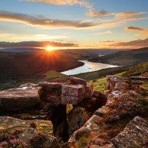 Bamford Edge Ladybower Sunset
