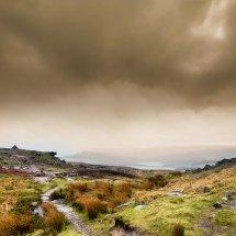 Misty Morning-Castleshaw Moor