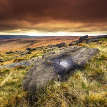 Autumn Sky-Castleshaw Moor