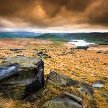 Castleshaw Moor Reservoir