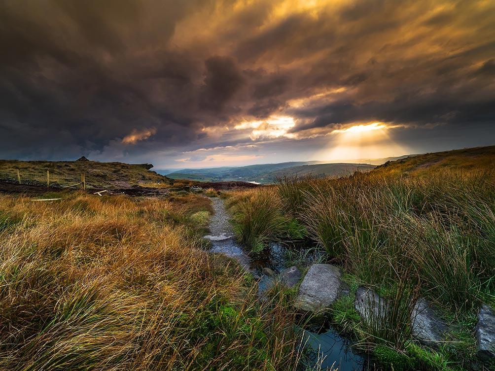 Last Light-Castleshaw Moor