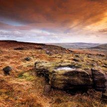 After Rain II-Castleshaw Moor