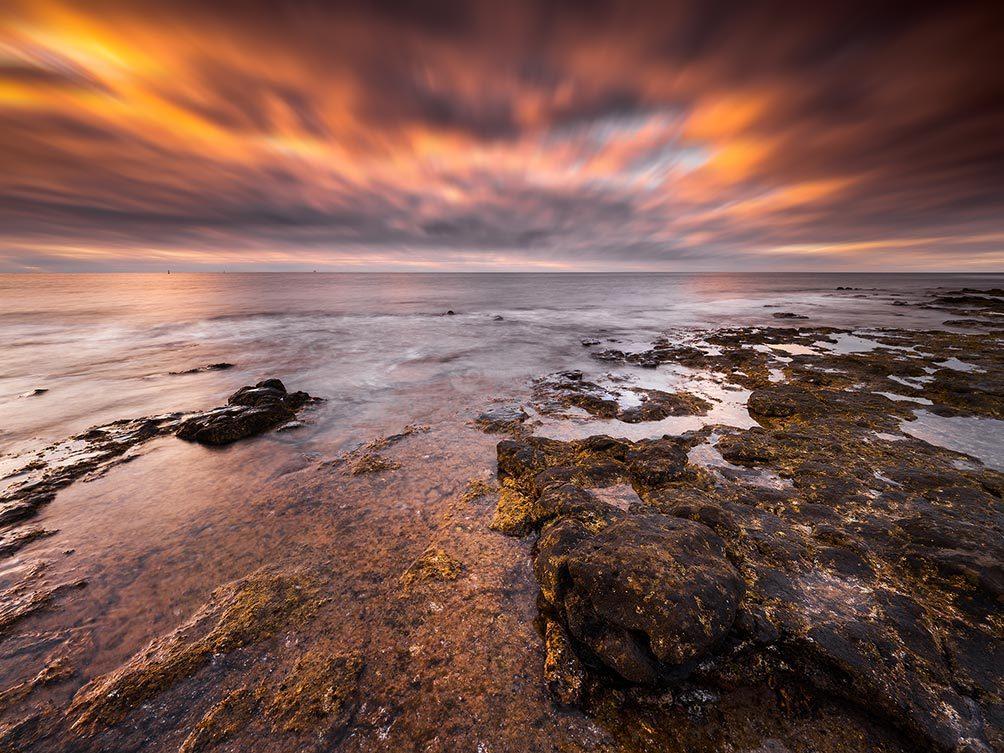 Rushing Clouds II