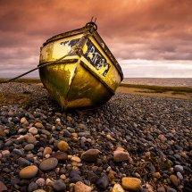 Yellow Boat-Lytham II