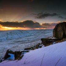 Winter Snow-Marsden Sunset