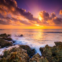 Wave Break At Dawn
