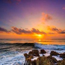Wave Break At Dawn II