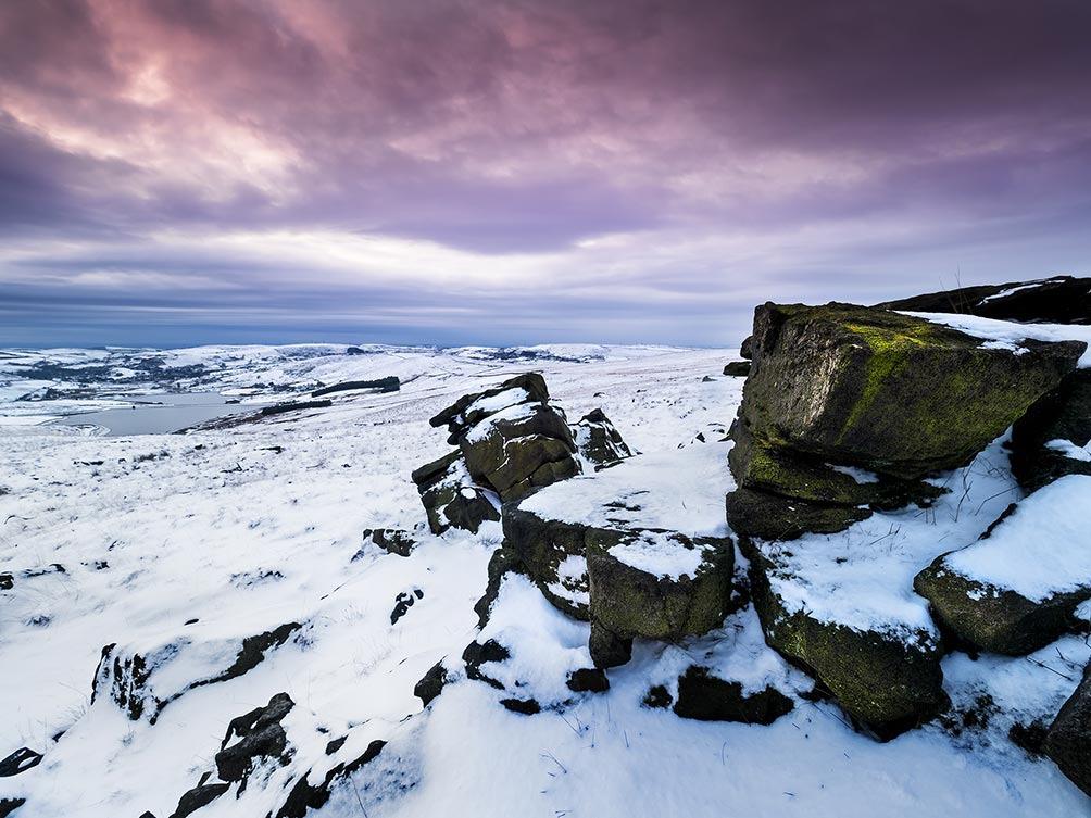 Moorland Snow