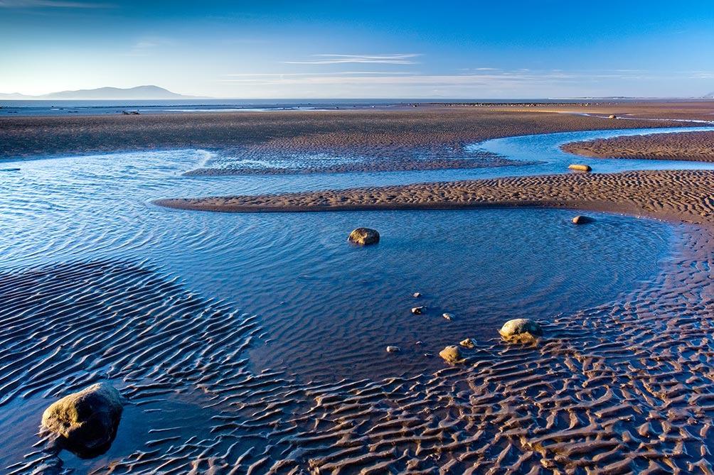 Blue Solway Firth