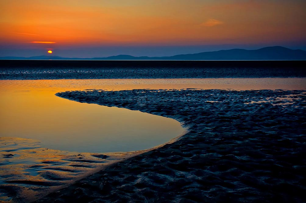 Sunset Over Mt Criffel I