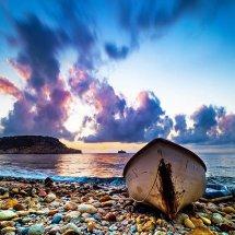 Boat At Sunrise-Spain I