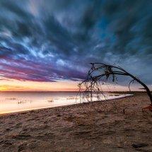 Sunset-Spurn Point