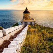 St Abbs Lighthouse Dawn.