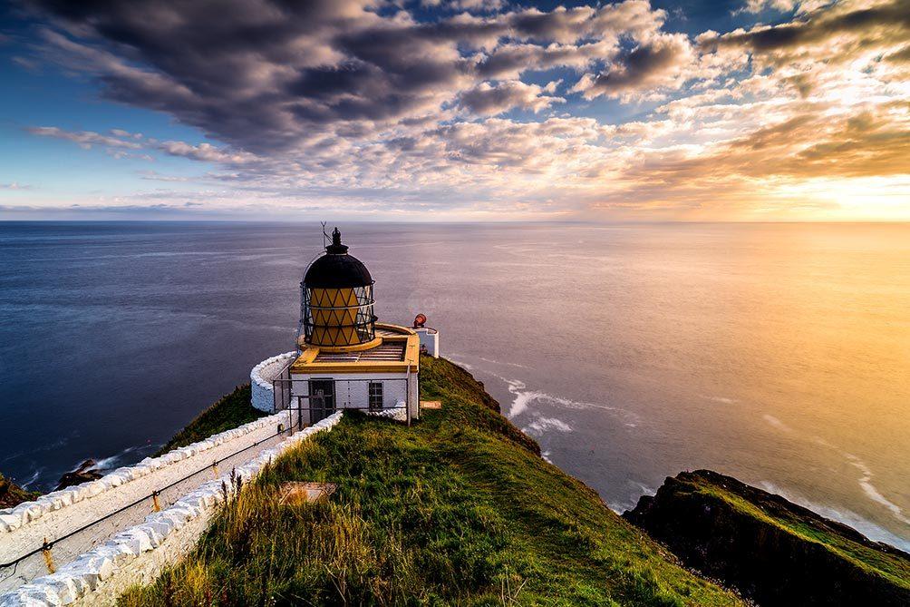 St Abbs Lighthouse Dawn II