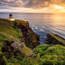 Little Lighthouse At Dawn