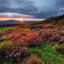 Summer Sunset-Stanage Edge III