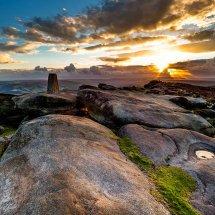 Trig Stone Sunset