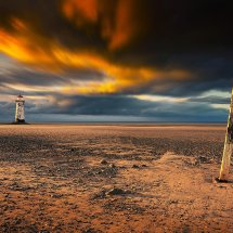 Talacre Beach Signpost II