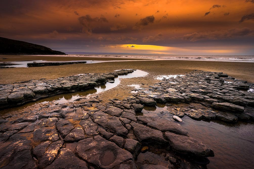 Rhossili Bay Sunset II