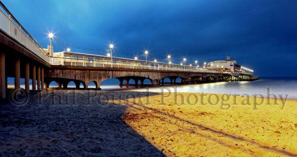 Bournemouth Pier at Twilight