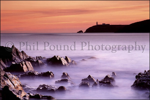 Galley Head Lighthouse.