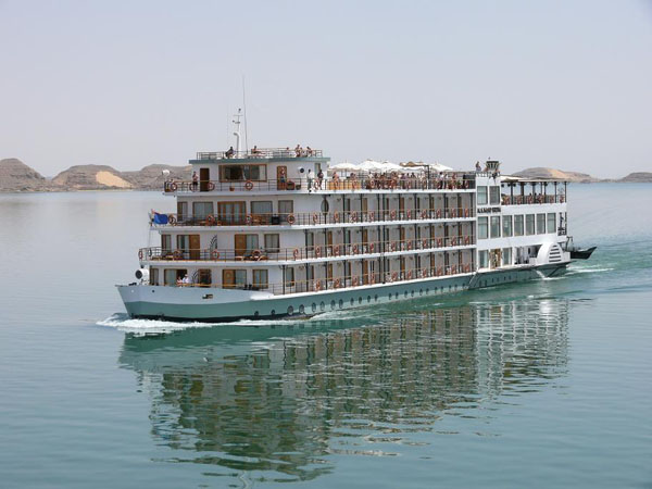 M/S Kasr Ibrim on Lake Nasser