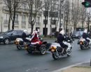 Father Christmas with the gendarmes