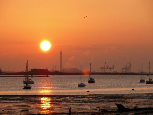 Industrial Sunrise (1)