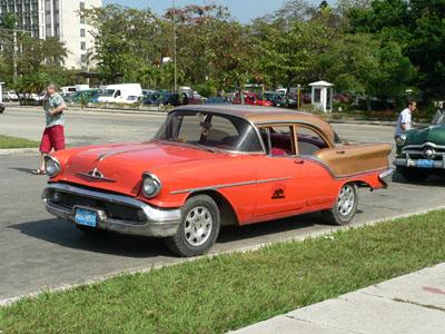 Vintage Car Havana
