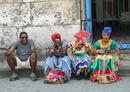 Colourful characters Havana