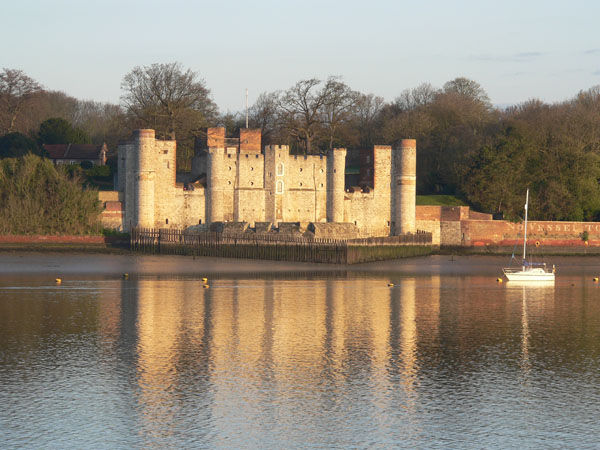 Upnor Castle at daybreak