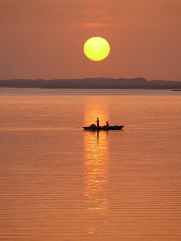 Sunset on Lake Nasser (2)