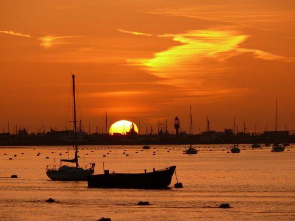Sunrise at St Mary's Island