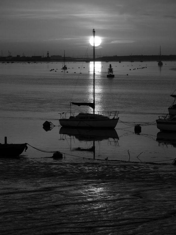 Delightful Black & White sunrise