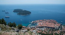 28 - Dubrovnik from Cable Car Station