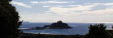 """""""St Michael's Mount, a blue panorama"""" Limited edition of 10 archival prints."""