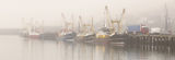 """""""Newlyn Harbour, misty panorama"""" Limited edition of 10 archival prints."""