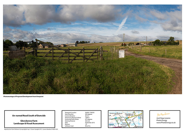 windfarm photomontage, wind farm photomontage