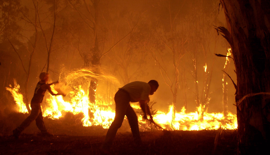 The 2003 Canberra Fire...The Bush Capital
