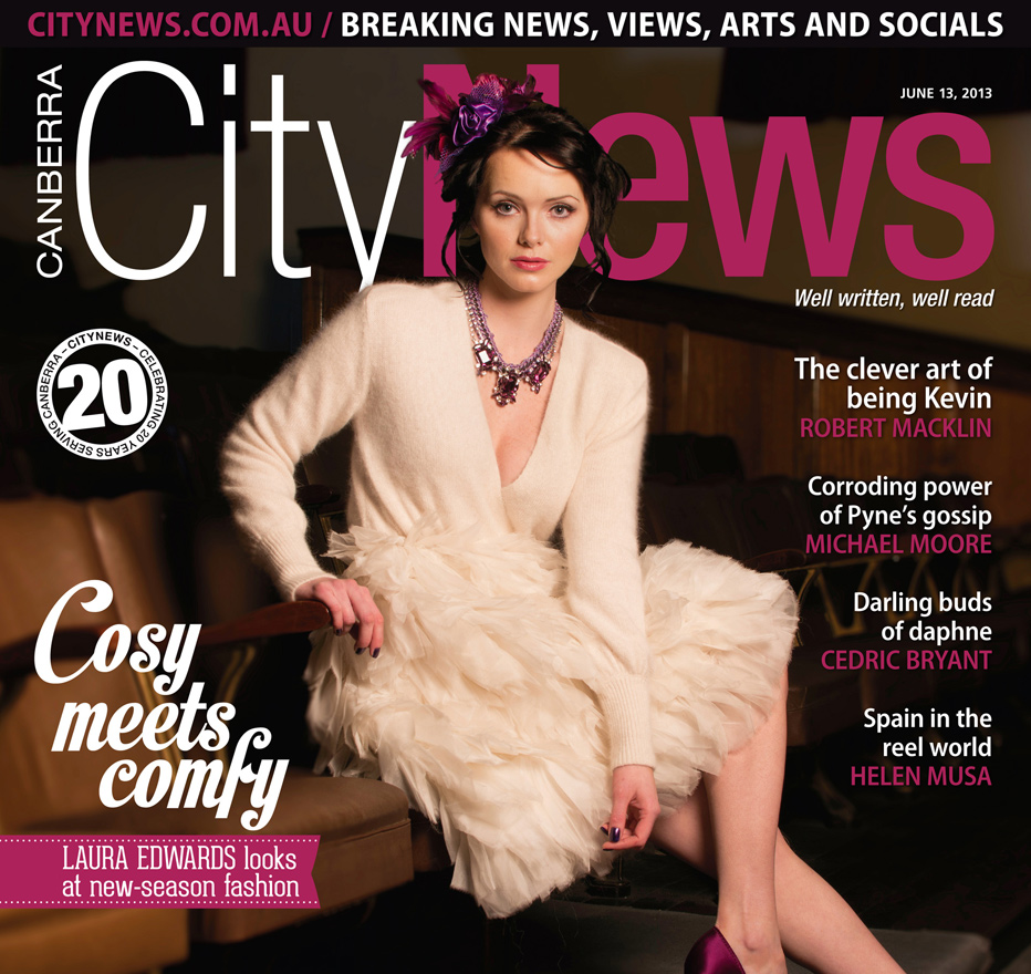City News Cover, Winter Fashion