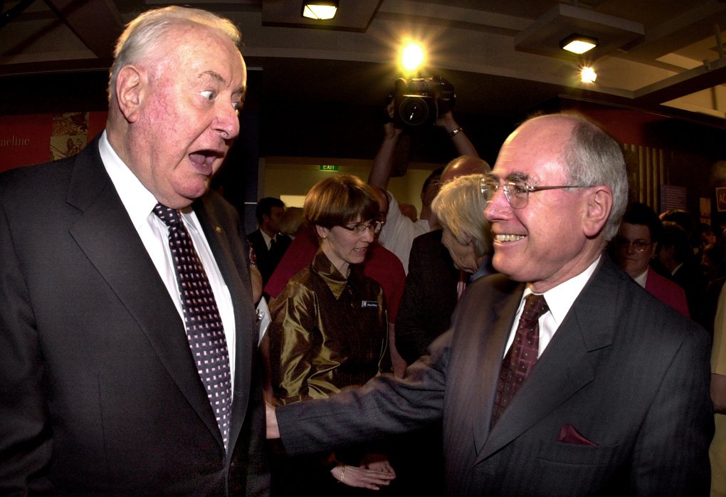 Whitlam and Howard
