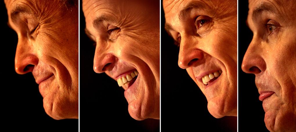 New York Mayor Rudy Giuliani