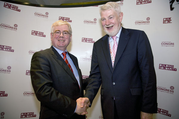 Eamon Gilmore & David Begg