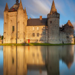 Evening at Laarne Castle