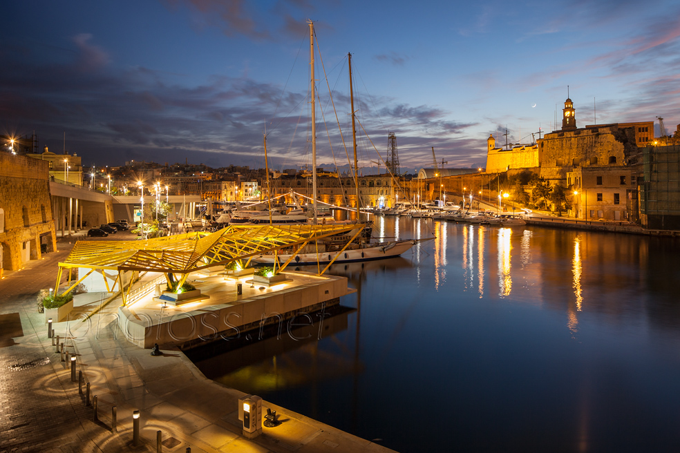 Night in Birgu