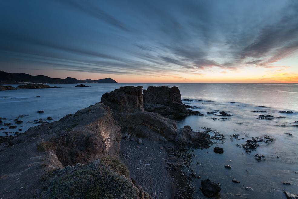 Dawn at Playa del Arco