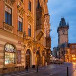 Dawn in Prague